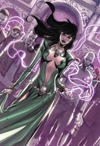 Marvel's version of the sorceress Morgan le Fay