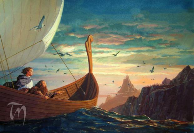 Legolas_and_Gimli_arrive_in_Valinor